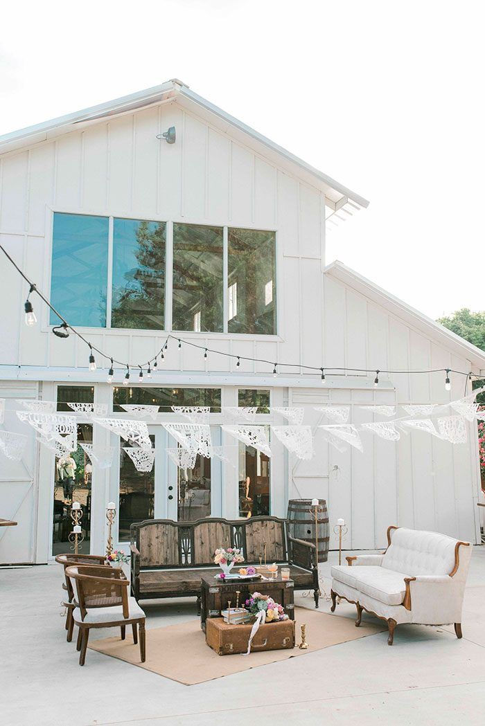 Succulents and Terra Cotta for Colorful Fiesta Style -   11 white wedding Barn ideas