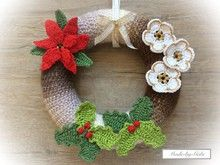 Photo of Crochet decoration like door wreaths