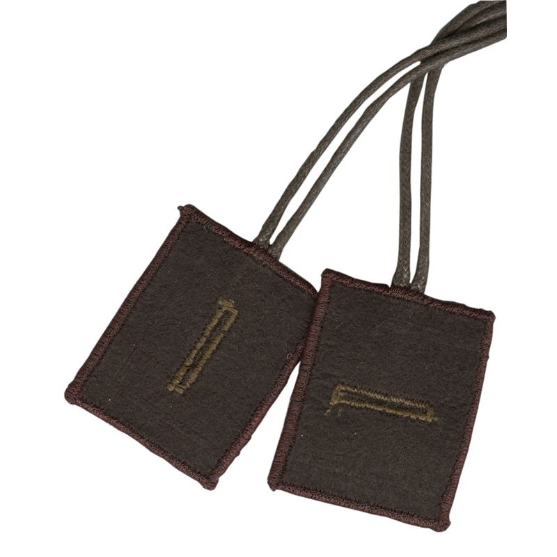 Classic Brown Scapular of Mount Carmel, with small pocket for tiny medal or other item.