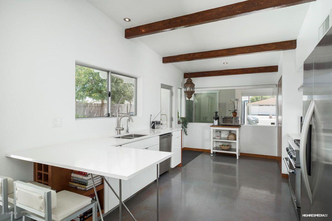 Scottsdale, AZ Kitchen Designs Mid century modern