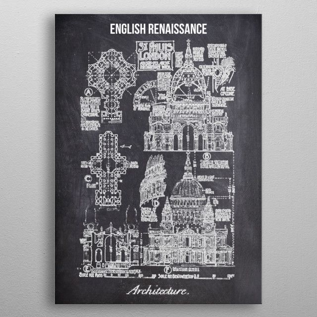 english renaissance by FARKI15 DESIGN | metal posters - Displate | Displate thumbnail