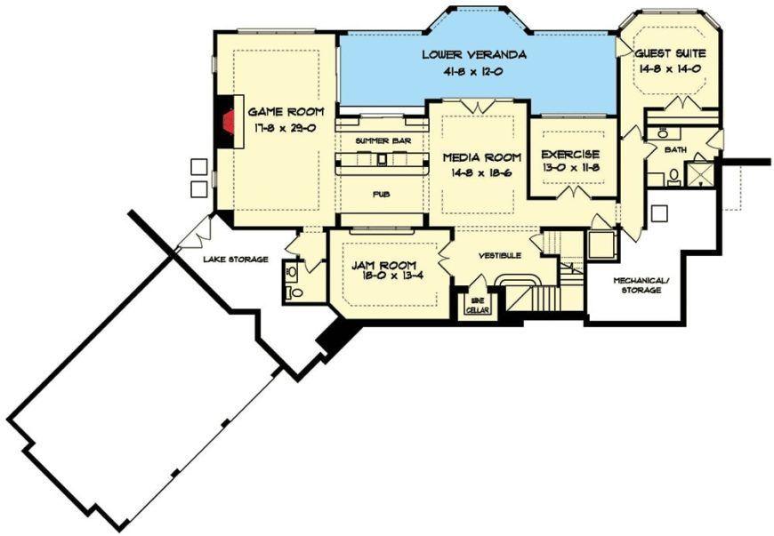 Two Story 5 Bedroom Tudor Mansion Floor Plan In 2020 Floor Plans Mansion Floor Plan Mansions
