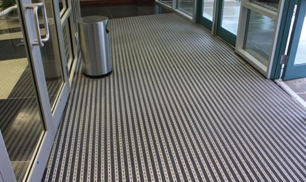 Ronick Entrance Matting Recessed Pedimat Commercial Installation Entrance Mat Entrance Commercial Office Space