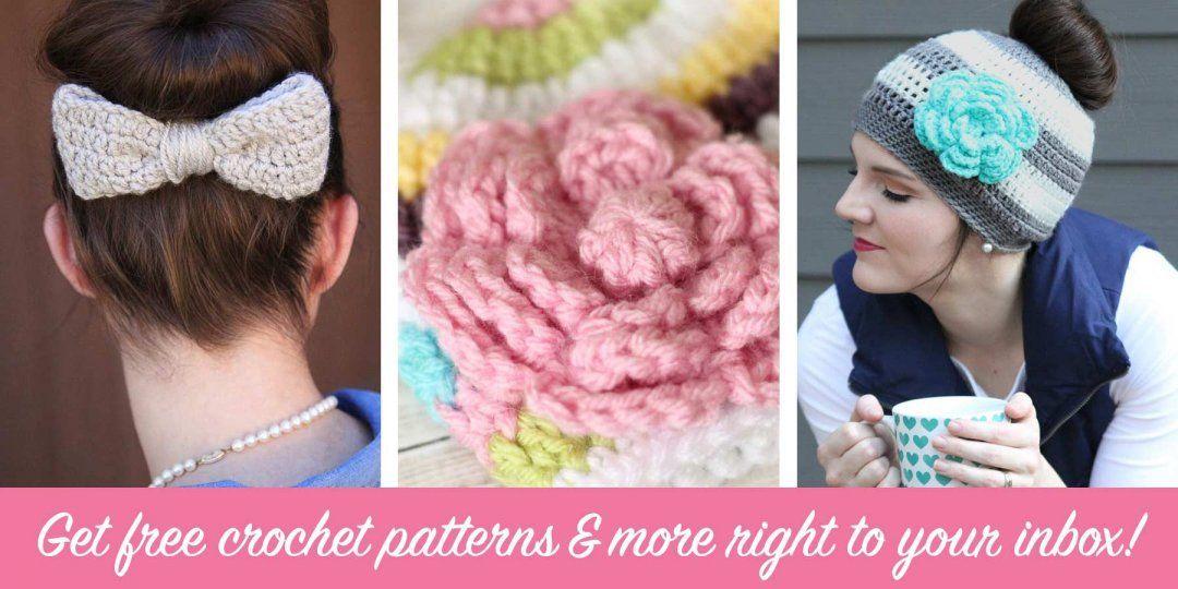 Flower Crochet Pattern Free   Diseño, Patrones para sombrero de ...