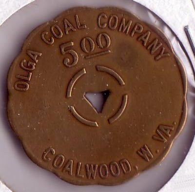 company scrip | company scrip olga coal company $ 5 00 company scrip olga coal company ...