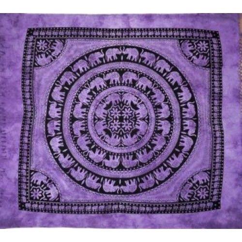 bbdd6346f Indisk vægtæppe/sengetæppe, 100% bomuld | Like | Indisk og Bomuld