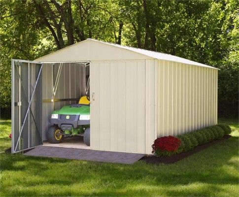 Arrow 10x20 Commander Metal Storage Shed Metal Storage Sheds Shed Storage Shed