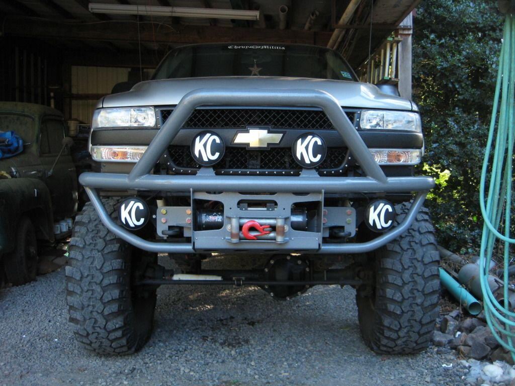 Silverado 99 chevy silverado accessories : LB7 Duramax - Bedlinered OEM Grill With RBP Style Stainless Bolts ...