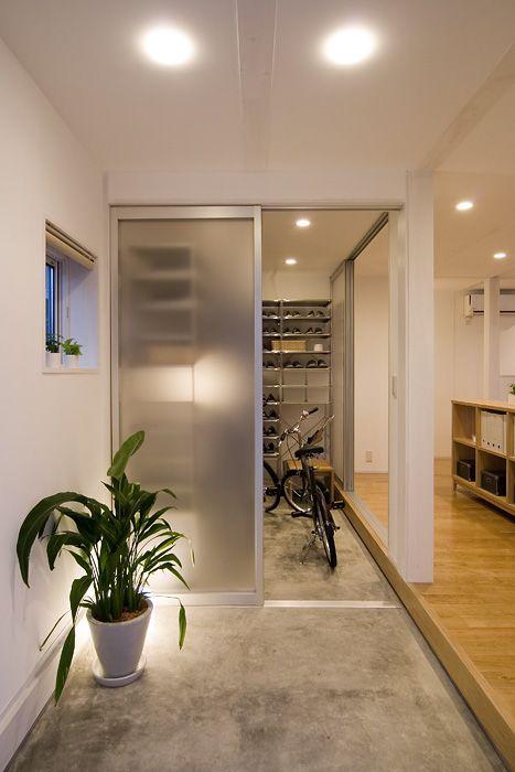 木の家 玄関 コンクリート土間 仕様 設備 無印良品の家 玄関