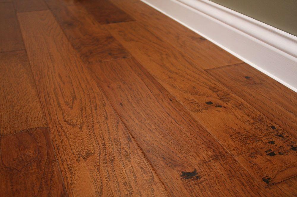 Hickory Gunstock 3 8 X 5 Hand Scraped Engineered Hardwood Flooring Weshipfloors Engineered Hardwood Flooring Flooring Hardwood Floors