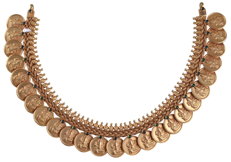 Gold Necklace for women - Kasu Mala- #Traditionaljewellery ...
