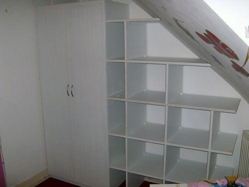 Kledingkast onder schuin dak zolder pinterest kledingkast zolder en de zolder - Amenager kast ...