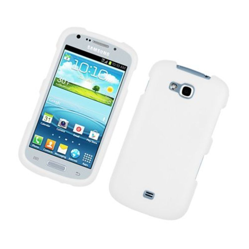 Insten Hard Snap-on Rubberized Matte Case Cover For Samsung Galaxy ...