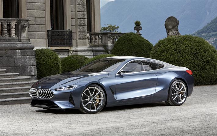Fondos De Pantalla 4k Coches: Descargar Fondos De Pantalla 4k, BMW Concept Serie 8, 2018
