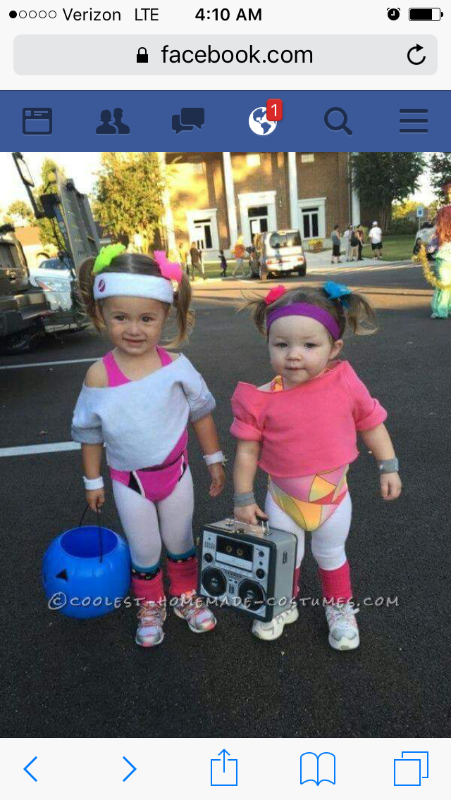 690588e42259 The One On The Right Looks Like My Baby Rhyan! Cutest Workout Girls Couple  Costume For Toddlers - 3 Sc 1 St Pinterest