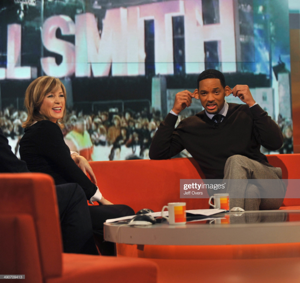 News Photo Us Film Star Will Smith Appearing On The Bbc Television Program Will Smith Film Seven