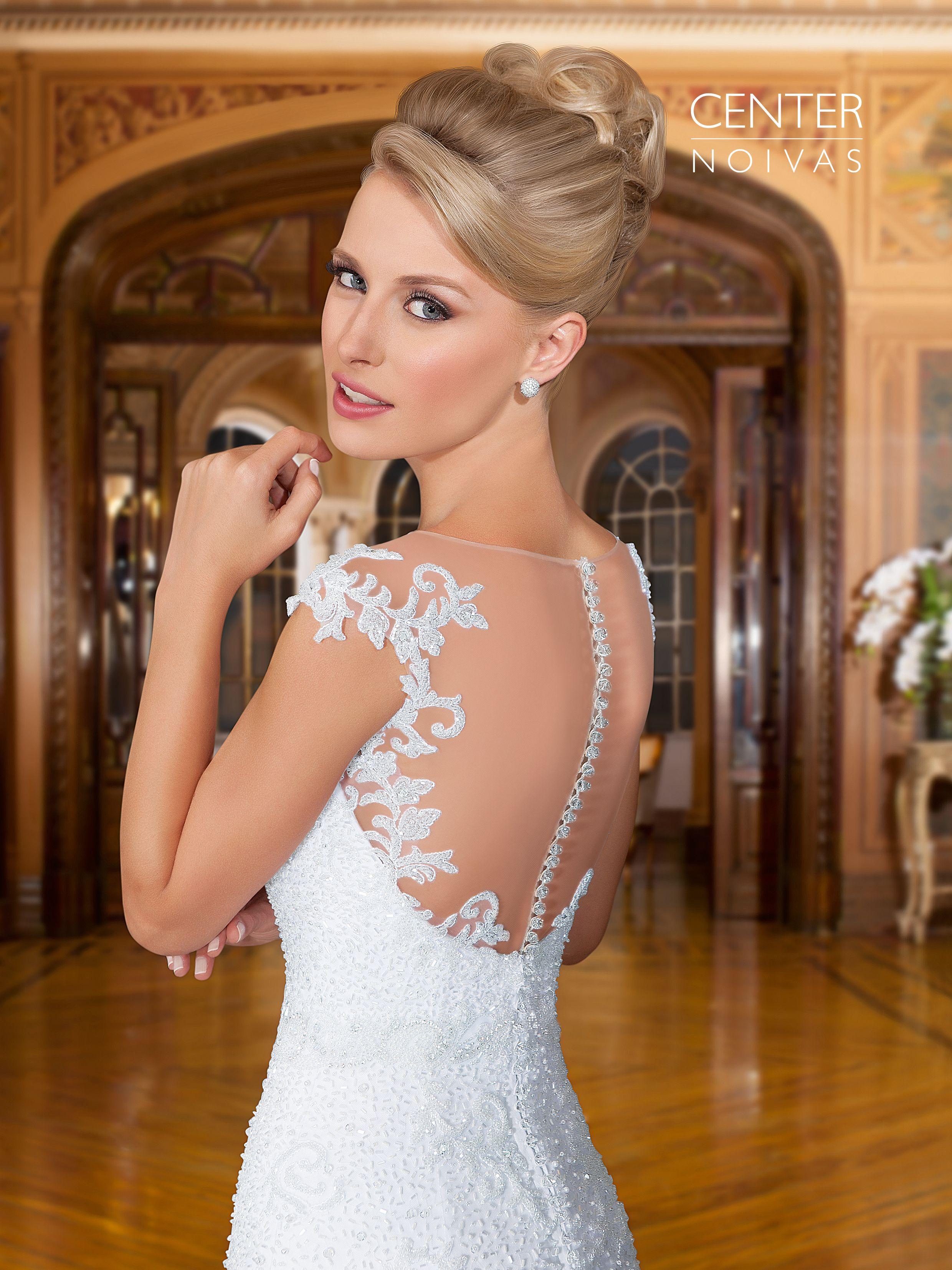 Vestido de noiva modelo sereia, GD 26. | Vestido de Noiva Coleção ...
