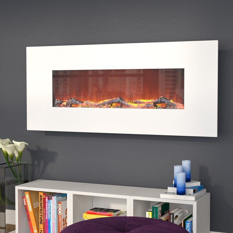 Lauderhill Wall Mounted Electric Fireplace With Images Wall