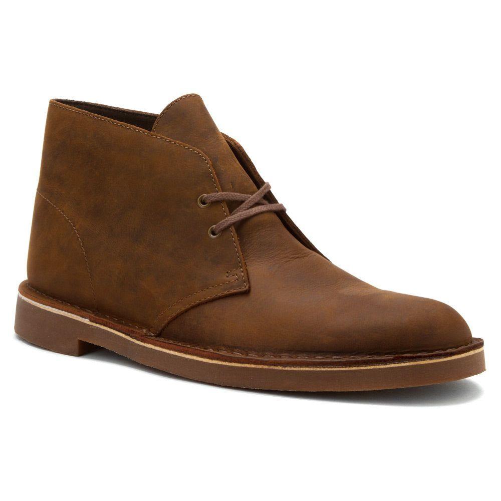 Clarks Bushacre 2 Size 11 M 82286 Men S Beeswax Brown Leather Chukka Boots Clarks Chukkaboots Leather Chukka Boots Dress Shoes Men Desert Boots