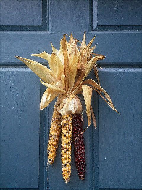 Indian Corn Decoration Fall Decor Fall Door Fall Crafts