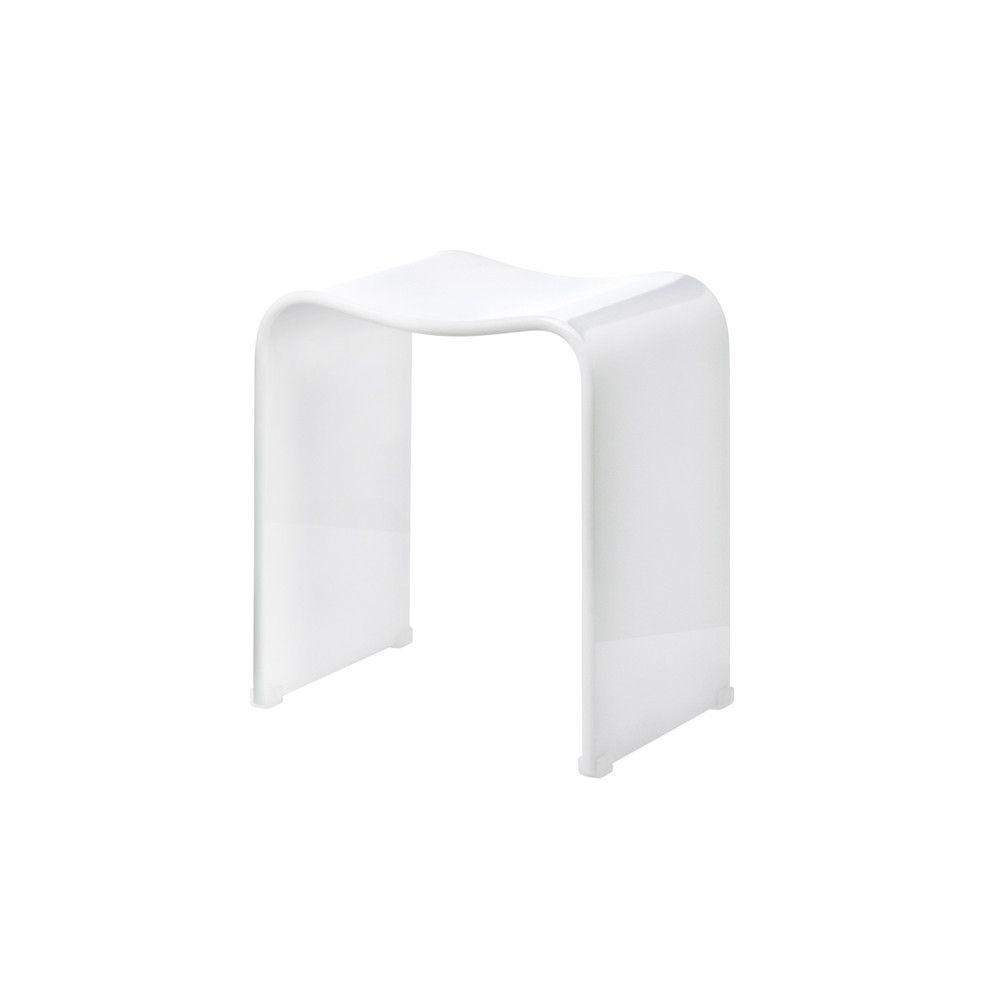 Decor Walther Dw 80 Bathroom Stool Acrylic White