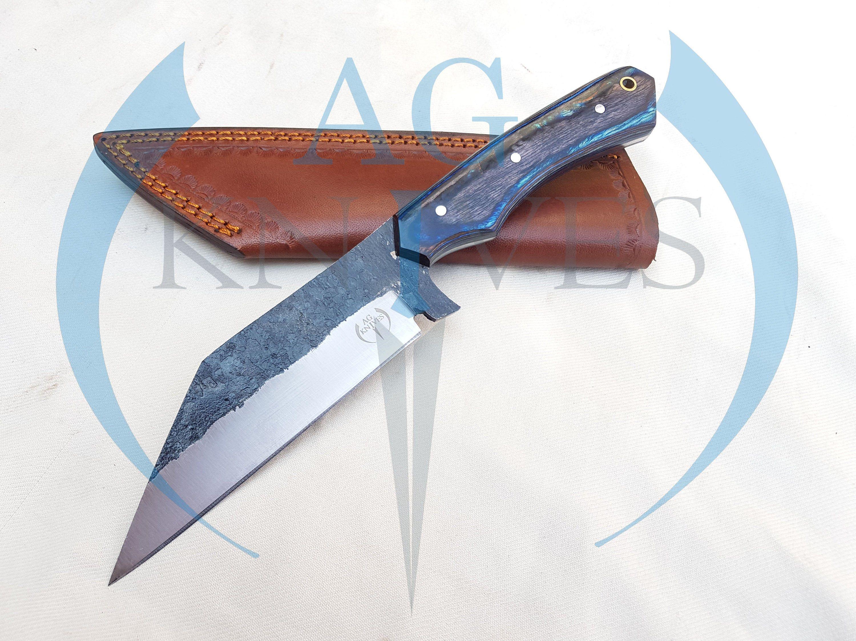 Handmade High Carbon Steel Viking Seax Knife With Color Sheet Etsy In 2020 Seax Knife High Carbon Steel Leather Sheath