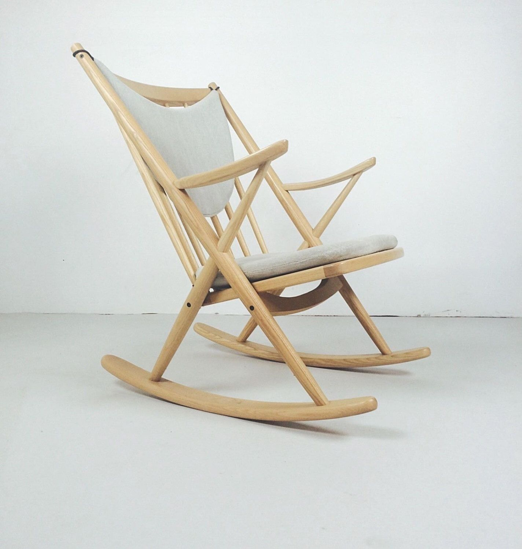 Frank reenskaug rocking chair - Rare Set Of Danish Mid Century Modern Rocking Chairs Frank Reenskaug For Jesper By Modmartdetroit On