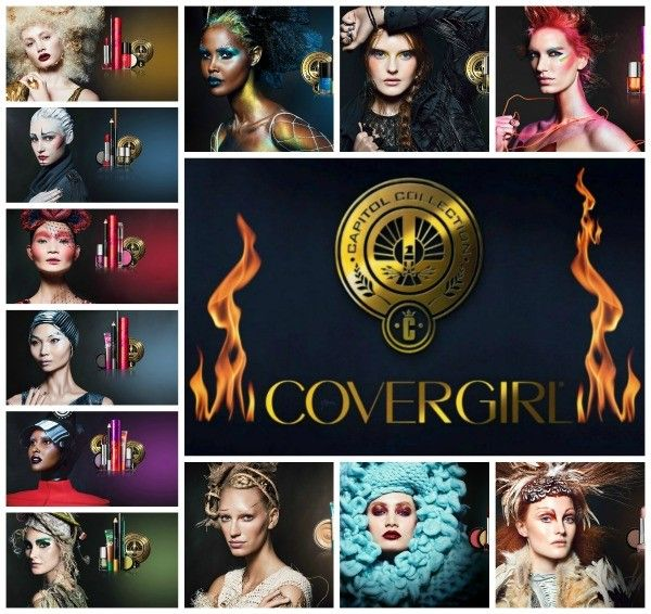 CoverGirl Hunger Games Lookbook and how-to exclusive