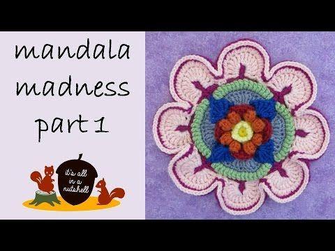 Patrón crochet Mandala Madness paso a paso en español - YouTube