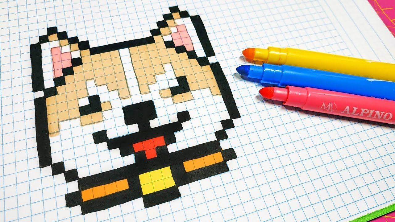 38++ Dibujos hechos en cuadritos inspirations