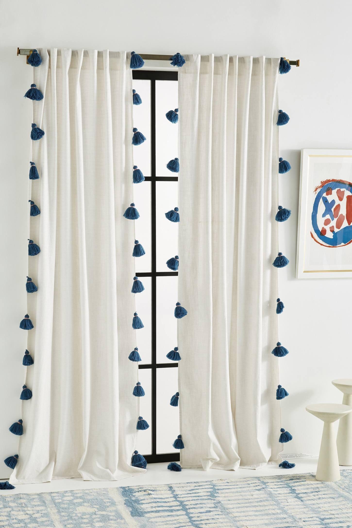 Mindra Curtain Tassel Curtains Curtain Decor Diy Curtains
