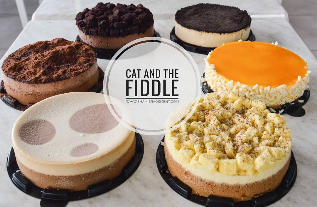 Craving cheesecake and tetibe teringat cake from @catandthefiddle ni.. Kat Kuantan kat mana Papparich ek?  #shamieraosmentdotcom #cheesecake #catandthefiddle