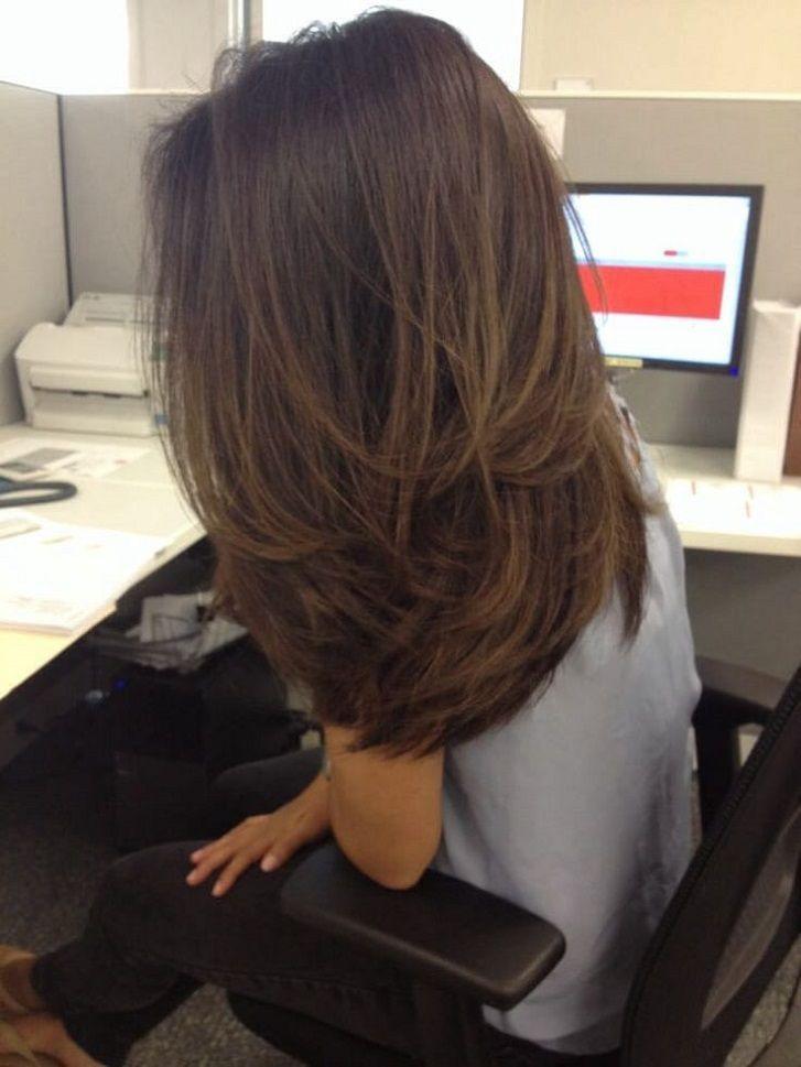 28 Naturlich Aussehende Frisuren Brunette Balayage Styles Frisur Brunette H Hair In 2019 Hair Lengths Long Hair Styles Hair Styles
