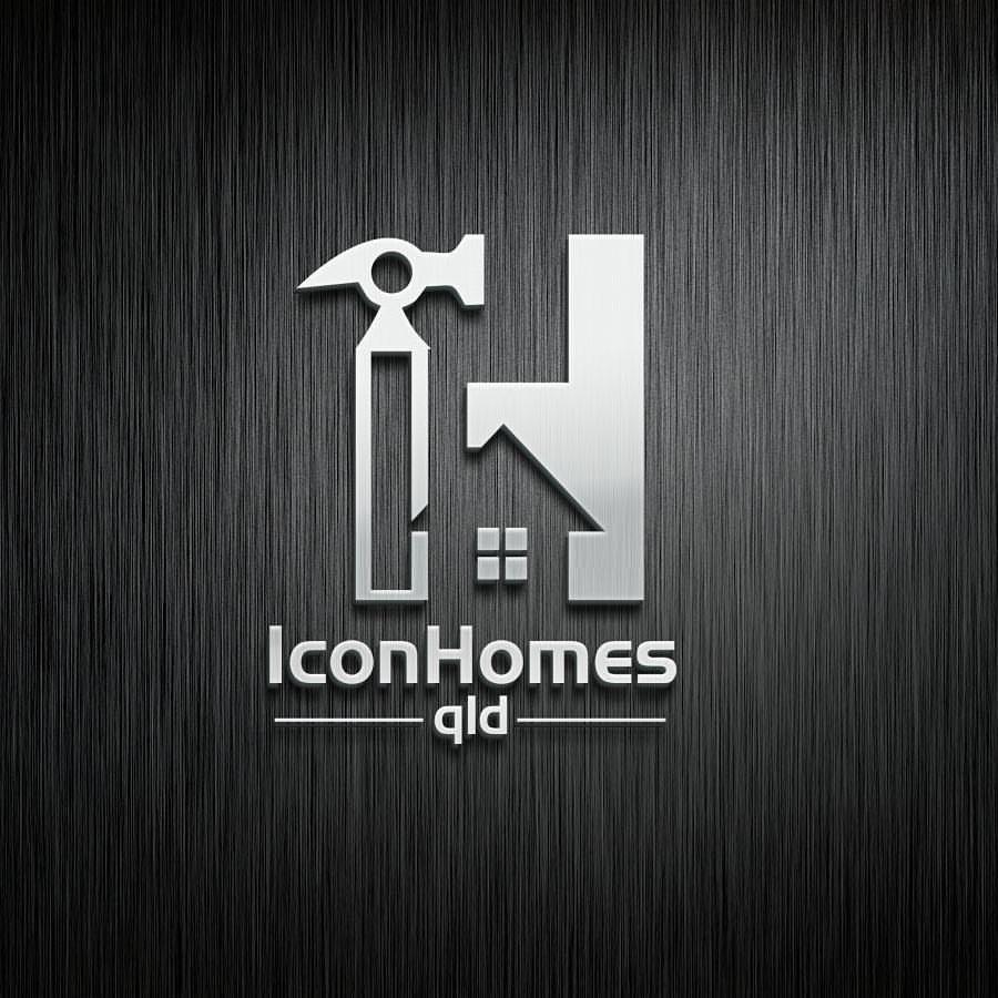 Logo design for Icon Homes qld logo design designer