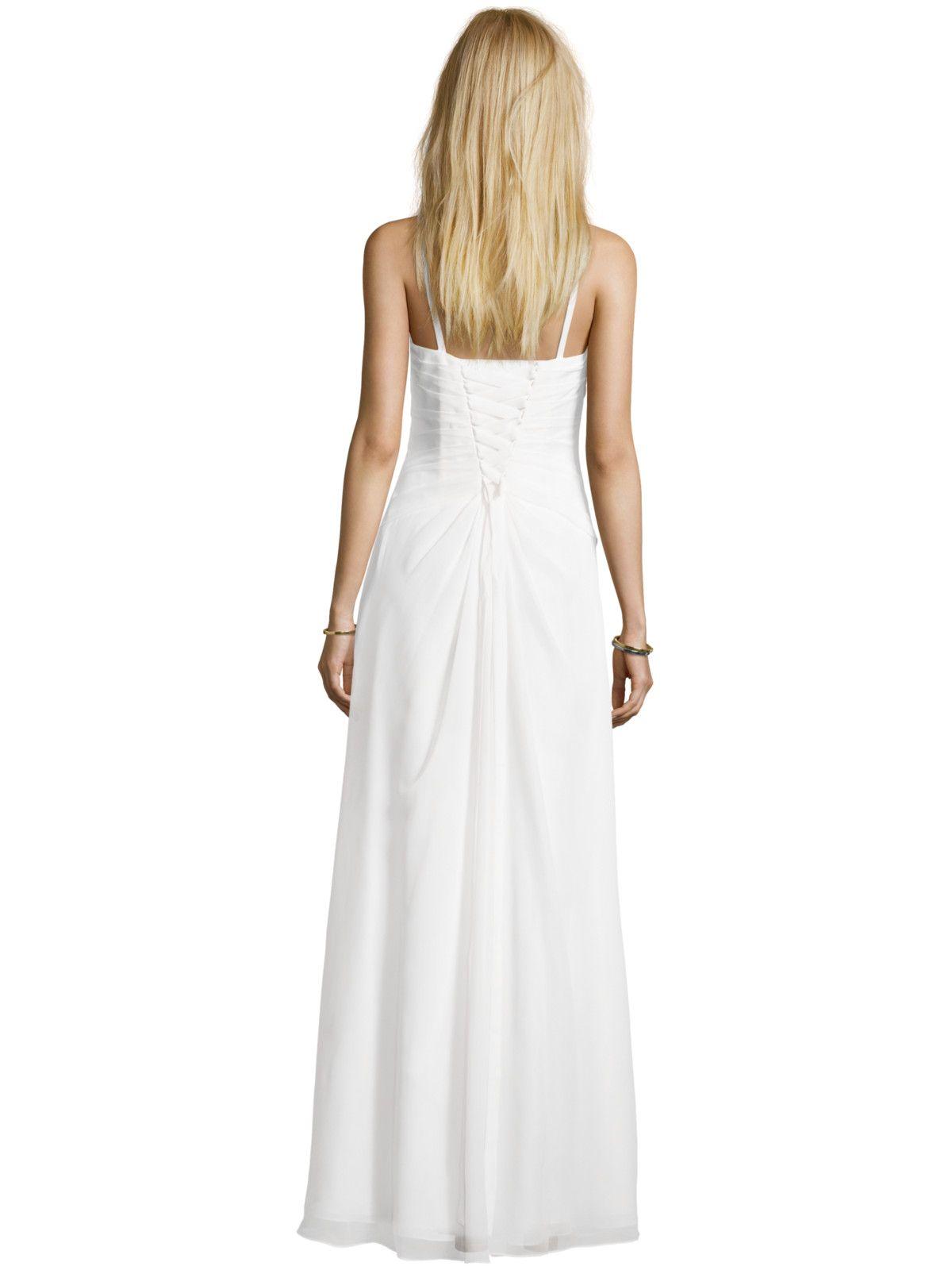 LUXUAR Brautkleid mit Herz Dekolletee und Blüten ...
