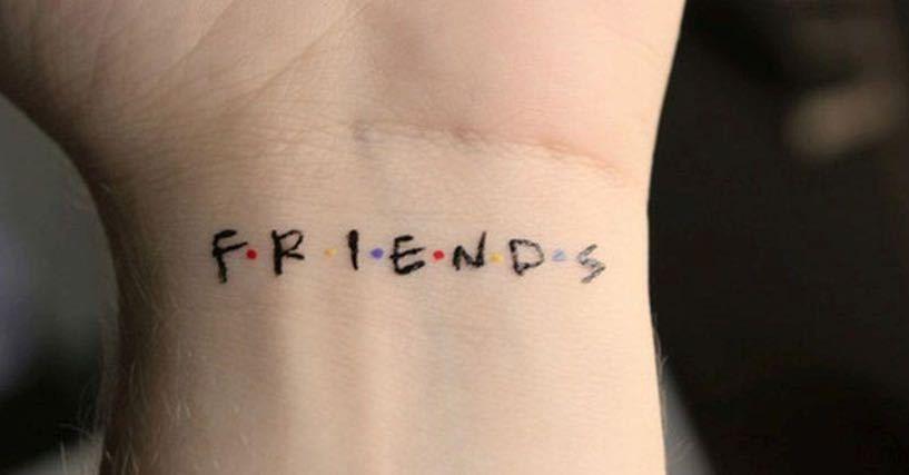 Friends Tv Show Tattoos 817 427 Pixels Tattoos Sister Tattoos Tattoo Tv Shows