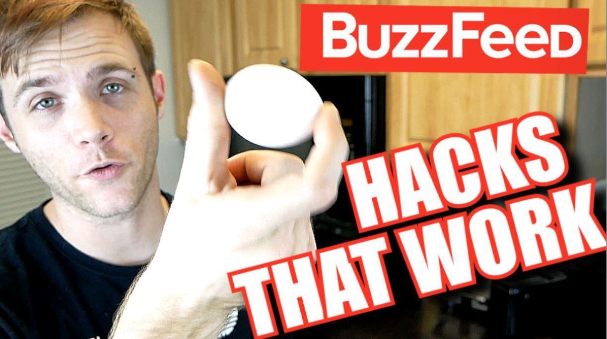 Testing Buzzfeed Life Hacks | Kitchen hacks, Buzzfeed life ...