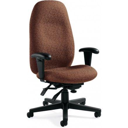 Global Enterprise 4570 3 High Back Multi Tilter Office Chair Oxygen Chestnut Ox06 Free Shipping In Canada Ergonomic Chair Best Ergonomic Chair Office Chair