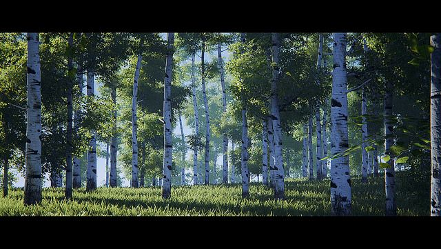 Koola's stuff: speedtree and real time lighting (movable sun