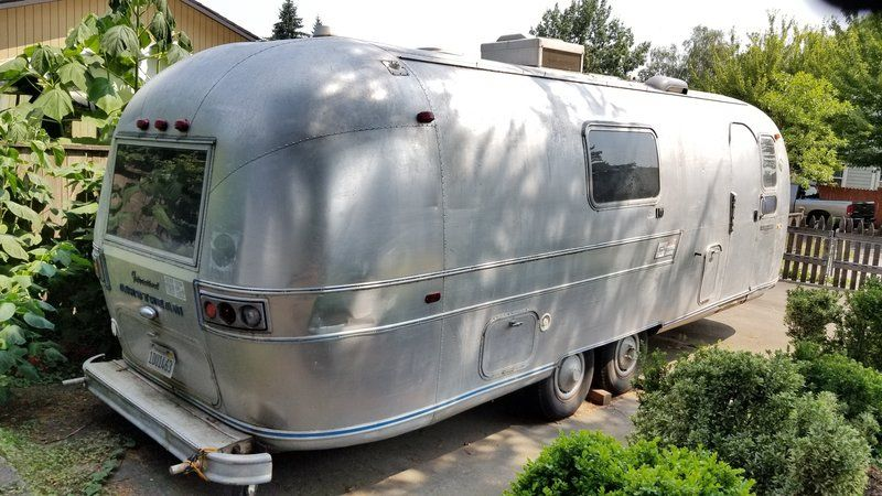 Used 1969 Airstream Overlander International Travel Trailers For