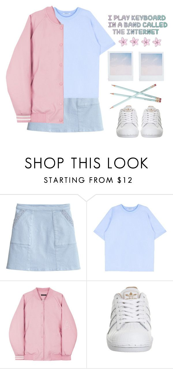 """Deep Thoughts."" by fleu-fou ❤ liked on Polyvore featuring adidas and Holga"