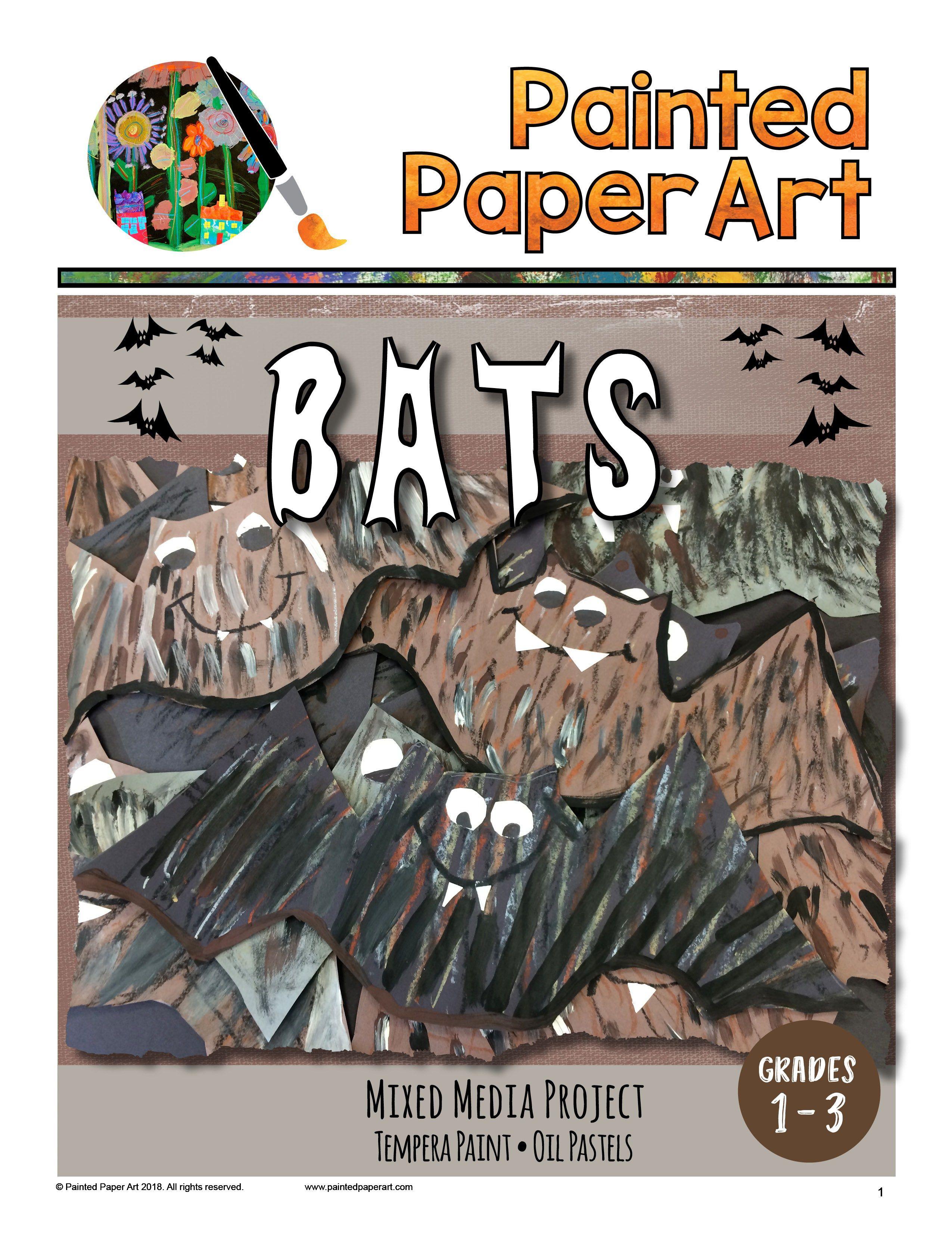 Bat Art Project Grade 1