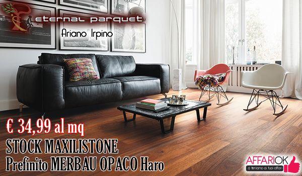 STOCK MAXILISTONE PREFINITO MERBAU OPACO HARO DA ETERNAL PARQUET
