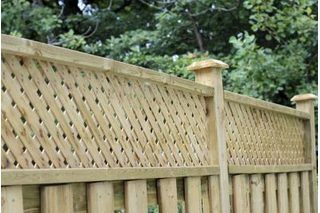 How To Add Privacy Lattice To An Existing Fence Lattice Fence
