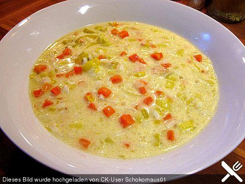 Kokos - Lauch - Suppe, ein leckeres Rezept aus der Kategorie Gebundene. Bewertungen: 13. Durchschnitt: Ø 4,1.