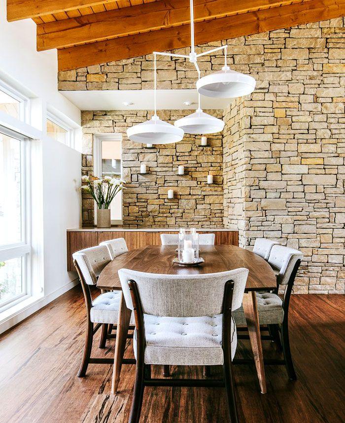 Decorating · 55 idéias da decoração da parede da sala de jantar para a temporada 2018 2019 dining room