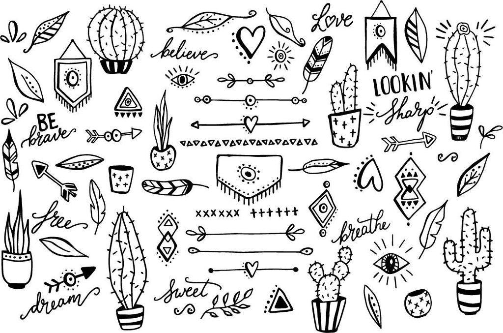 Desert SVG File Set Cactus clipart, Clip art, Arrow clipart