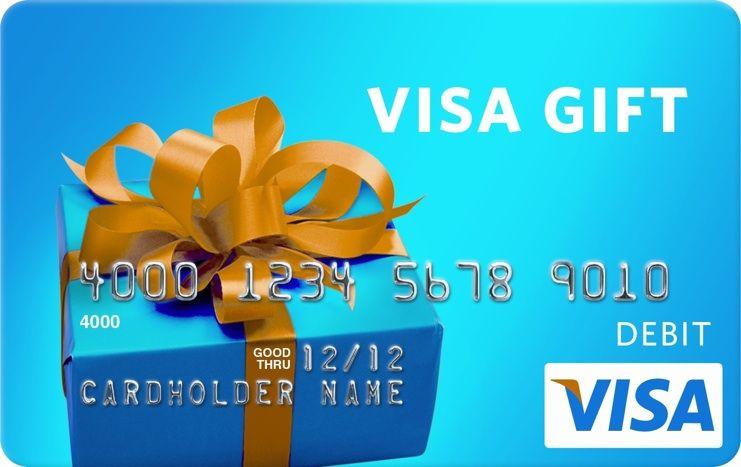 50 Visa Giftcard Giveaway Angela J Richter Prepaid Gift Cards Free Gift Cards Visa Gift Card