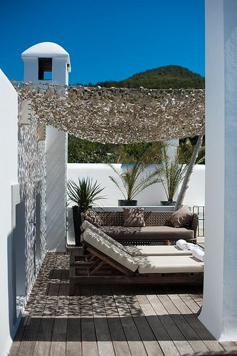 filet de camouflage ombre terrasse ext rieurs pinterest. Black Bedroom Furniture Sets. Home Design Ideas