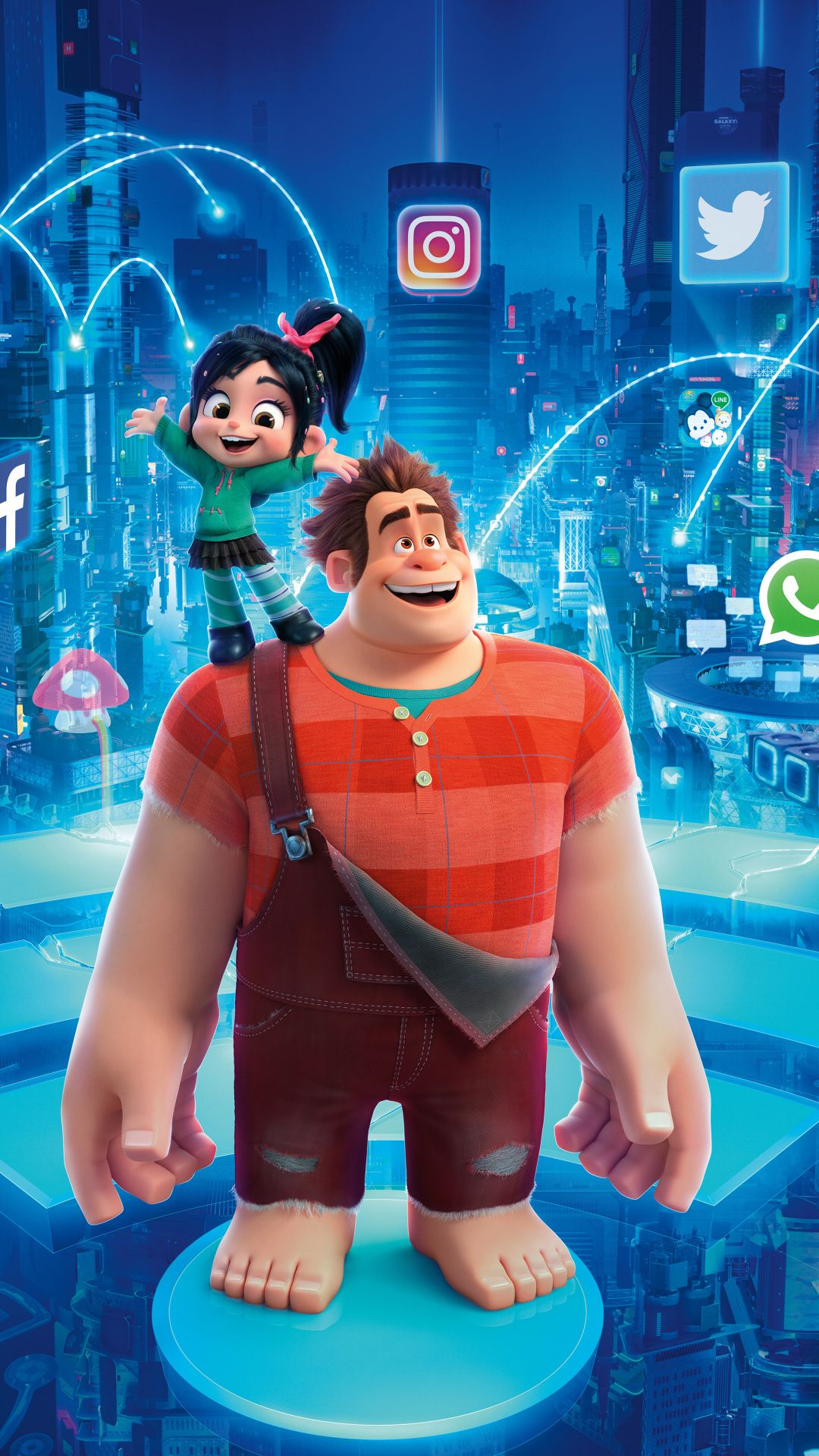 Animation Movie Ralph Breaks The Internet 2018 1080x1920